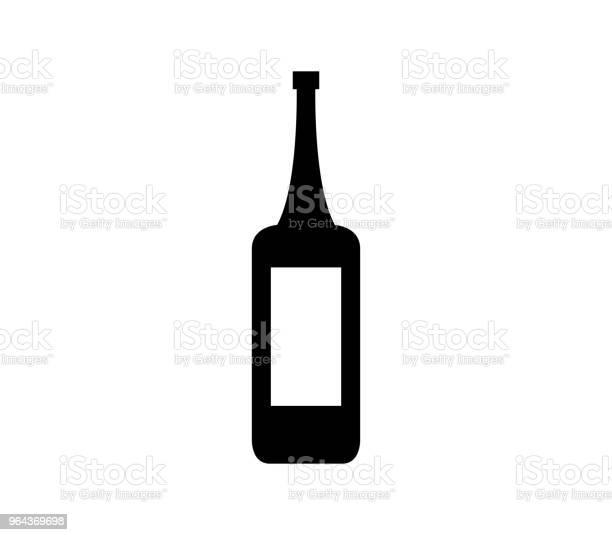 Vetores de Garrafa De Vinho Ícone e mais imagens de Bebida alcoólica