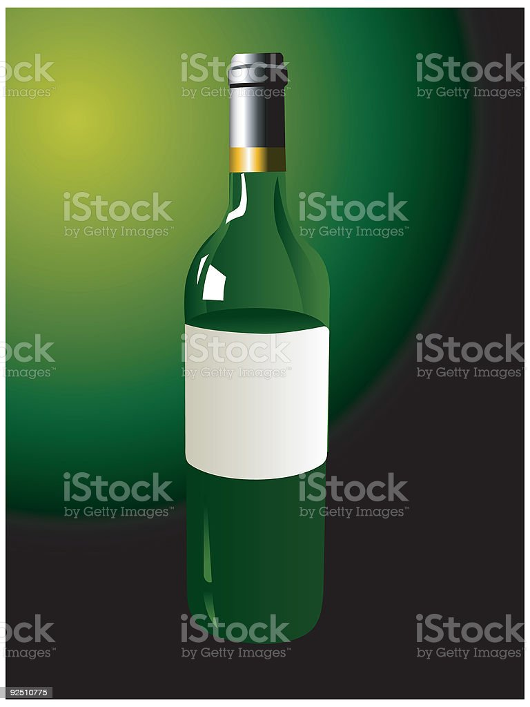 Wine bottle royalty-free wine bottle stock vector art & more images of alcohol