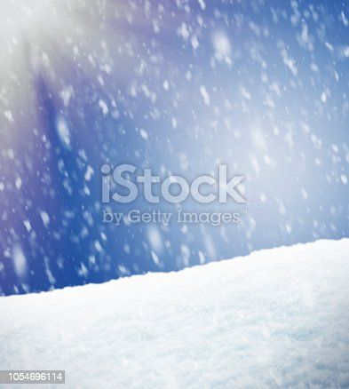 Snowing Winter Background - for inspector: I am the copyright owner of all images and sketches used in this composition