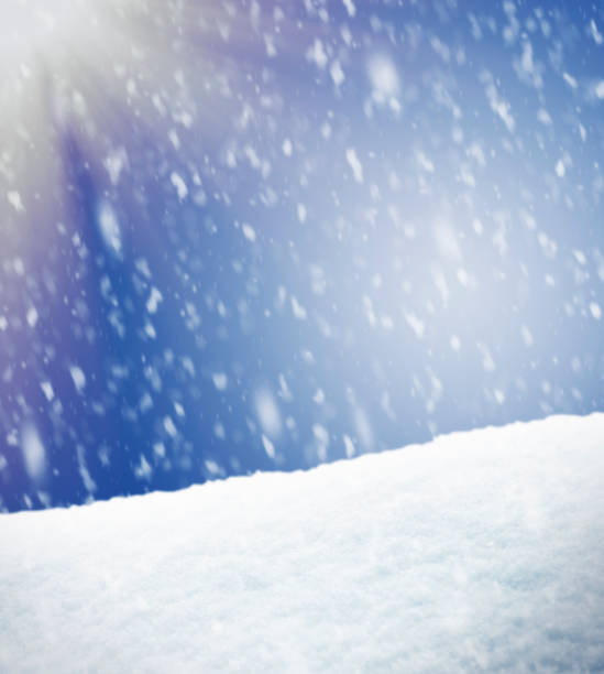 Winter Background Snowing Winter Background - for inspector: I am the copyright owner of all images and sketches used in this composition snowdrift stock illustrations