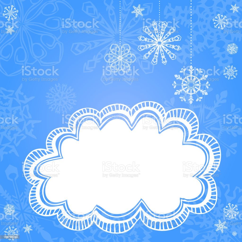 Winter Background royalty-free stock vector art