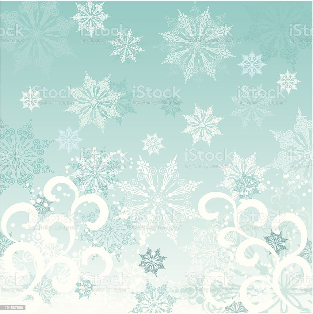 Winter background, vector royalty-free winter background vector stock vector art & more images of abstract