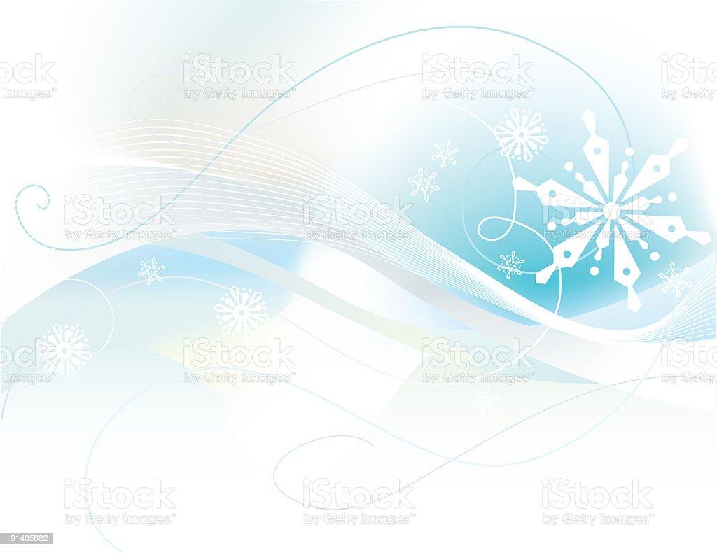 Winter Elegance royalty-free stock vector art