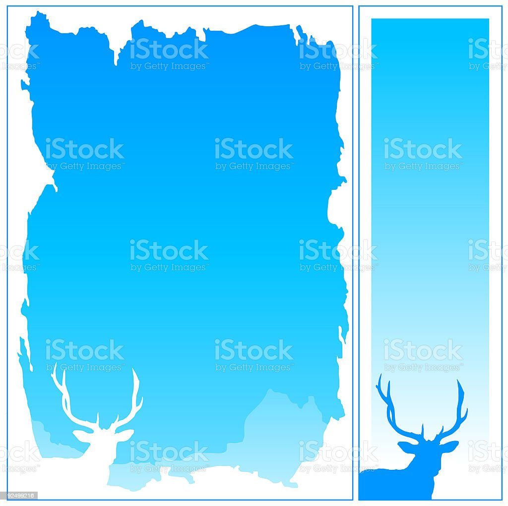 Winter Frames 01 vertical royalty-free winter frames 01 vertical stock vector art & more images of blue