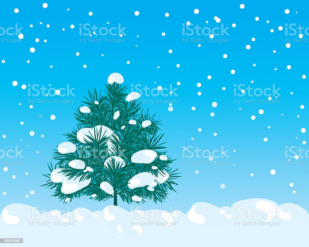 Winter royalty-free winter stock vector art & more images of blue