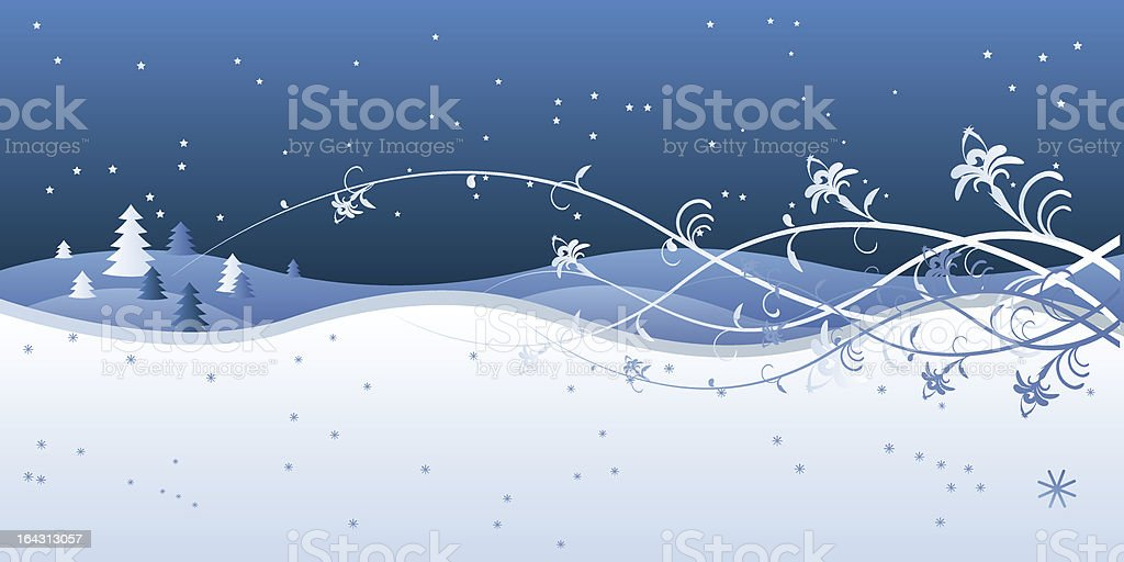 winter landscape postcard royalty-free winter landscape postcard stock vector art & more images of abstract