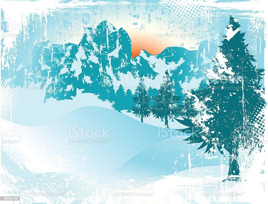Winter Scene royalty-free winter scene stock vector art & more images of art