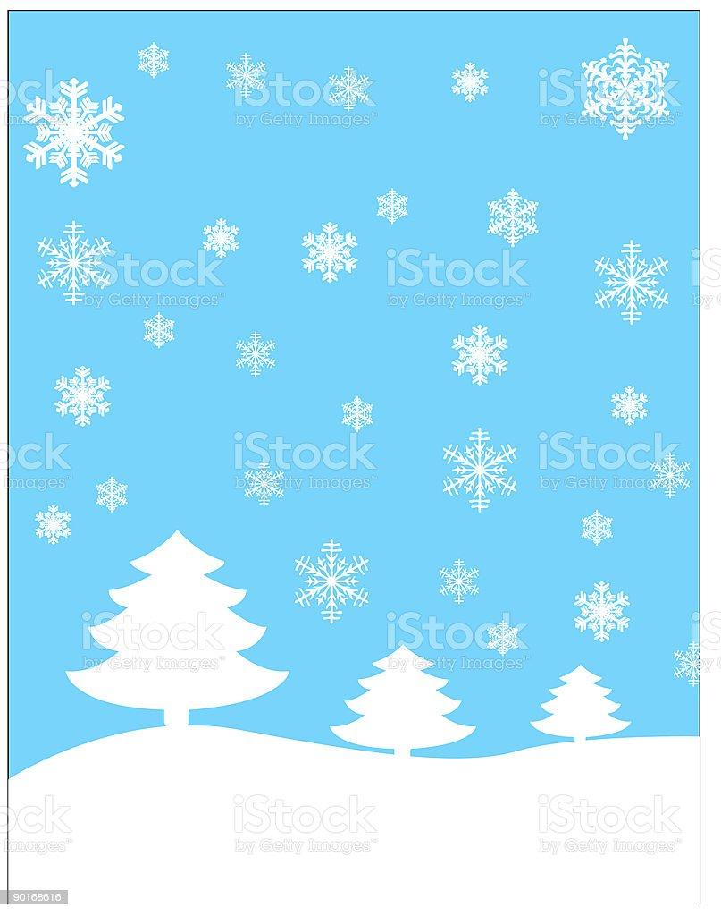 Winter scene royalty-free winter scene stock vector art & more images of backgrounds