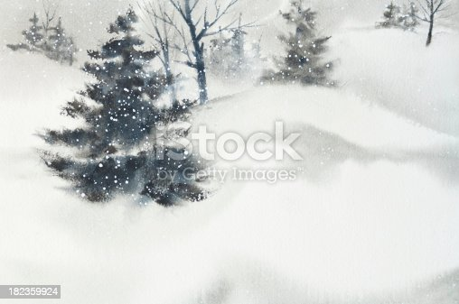 A winter background ready for your greeting or advertisement.