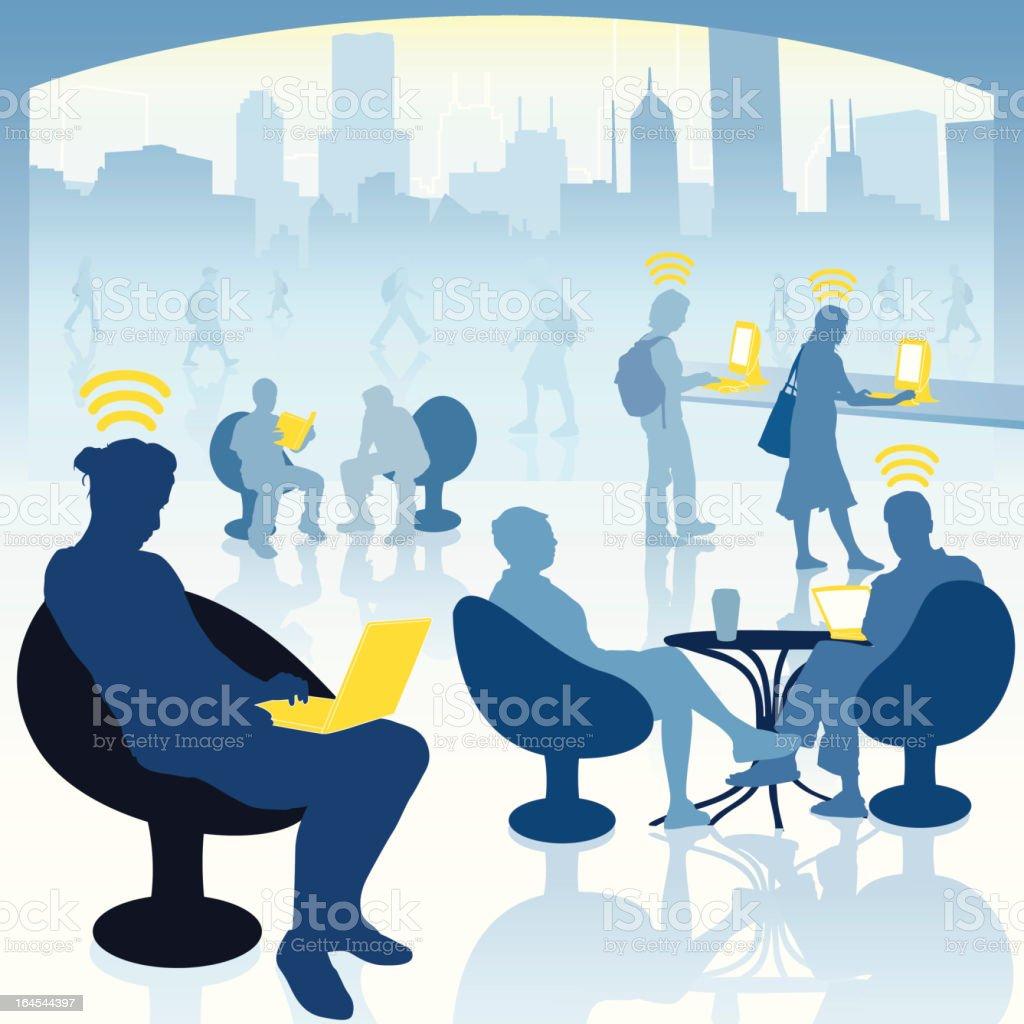Wireless World royalty-free stock vector art