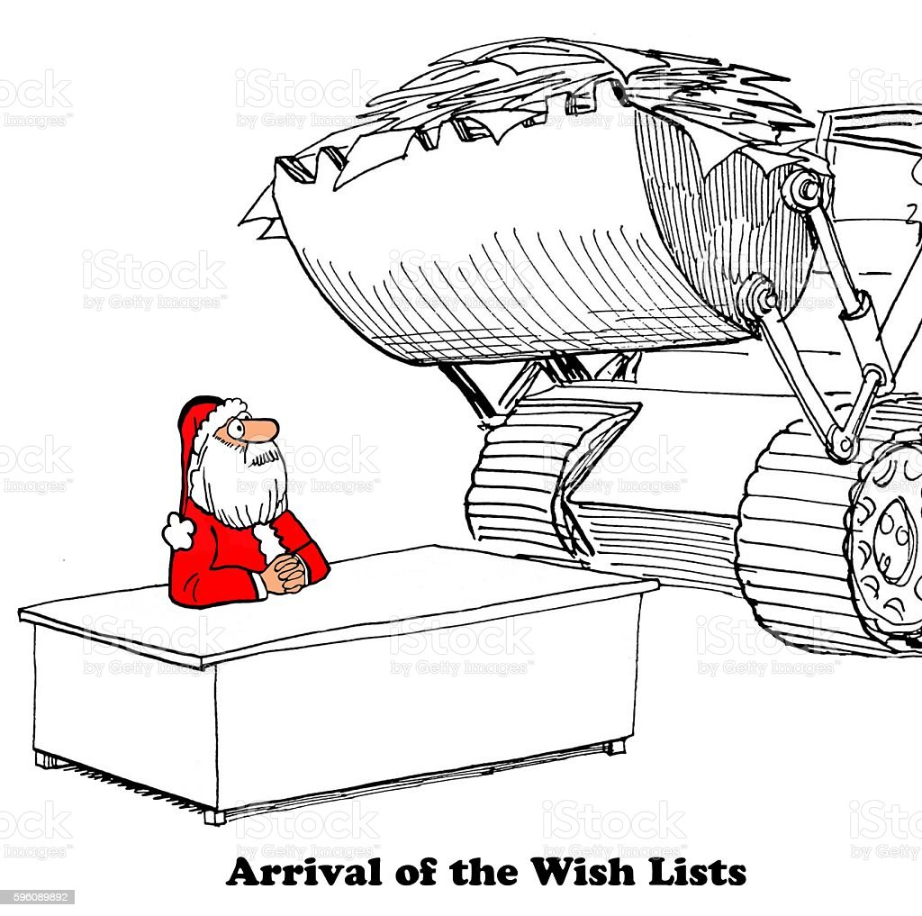 Wish Lists for Santa royalty-free wish lists for santa stock vector art & more images of bulldozer