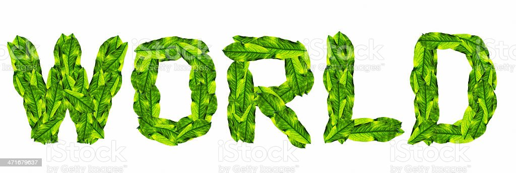 WORLD, with green leaf texture royalty-free world with green leaf texture stock vector art & more images of accidents and disasters