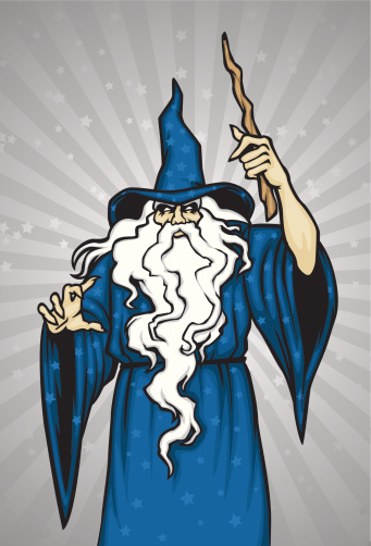 Wizard Stock Illustration - Download Image Now - iStock