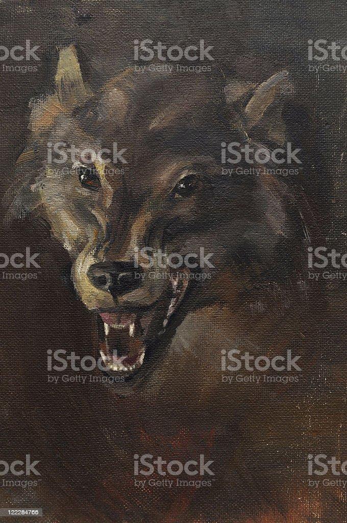 Wolf - Royalty-free Animal stock illustration