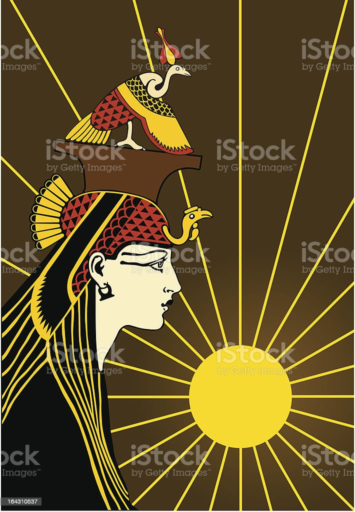 Woman of the Nile royalty-free woman of the nile stock vector art & more images of adult