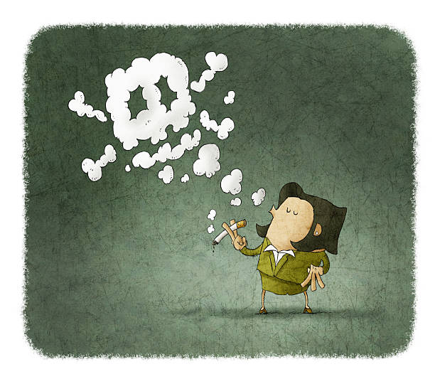 18 Drawing Of Woman Blowing Smoke Illustrations Royalty Free Vector Graphics Clip Art Istock