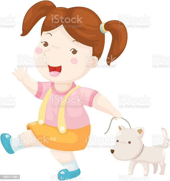 Woman walking dog illustration id164471951?b=1&k=6&m=164471951&s=612x612&h=vir2l9tn vwuseoes8azfuttg5bleml0agee7urq vo=