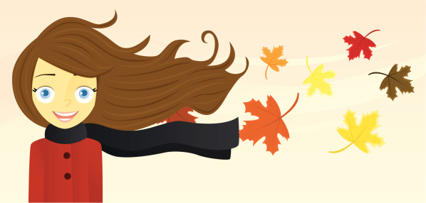 Woman With Long Hair Stock Illustration - Download Image Now