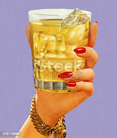 istock Woman's Hand Holding Drink 476176588