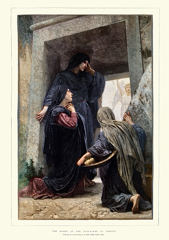 Women at the sepulchre of christ