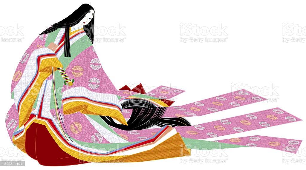 女性の平安時代 普段着ます メディバル日本 カジュアルウェアの