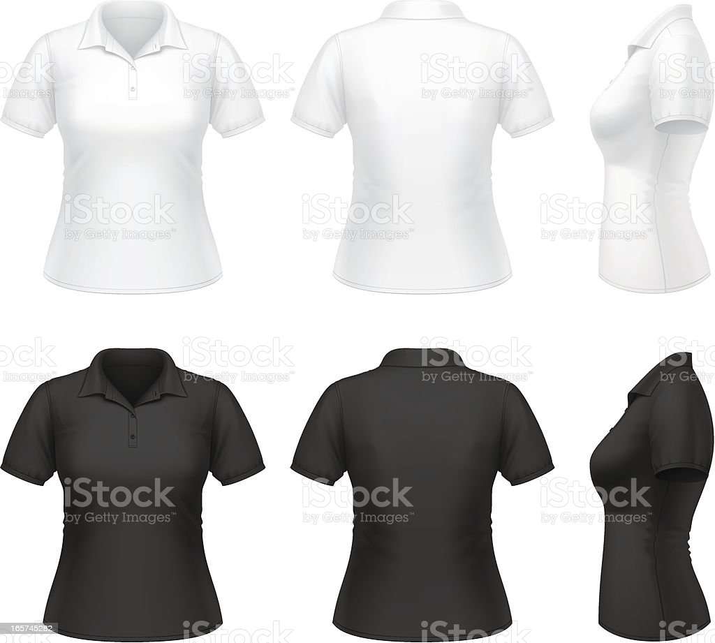 Women's polo shirt royalty-free womens polo shirt stock vector art & more images of adult
