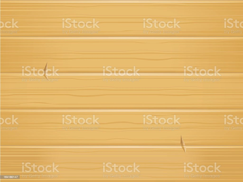 Wooden Background with Removable Dents vector art illustration