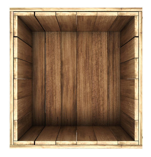 Best Wood Crate Illustrations Royalty Free Vector