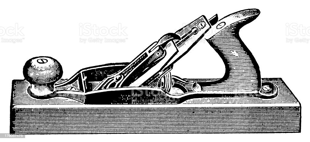 Woodworking Plane I Antique Design Illustrations royalty-free woodworking plane i antique design illustrations stock vector art & more images of 19th century