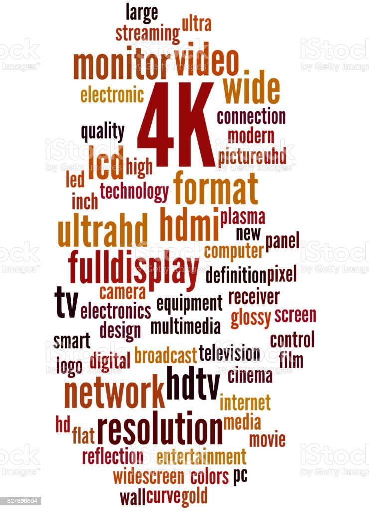 4k Word Cloud Concept Stock Vector Art & More Images of