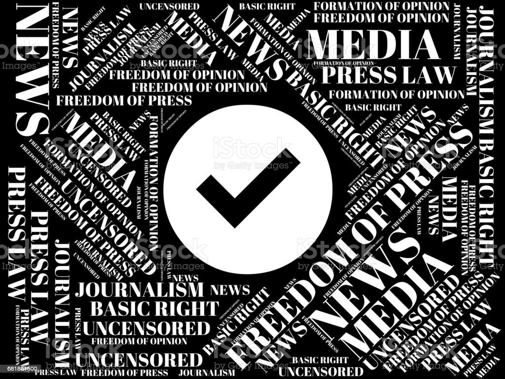 Word Cloud Words About Freedom Of Press Word Cloud Cube Letter Image