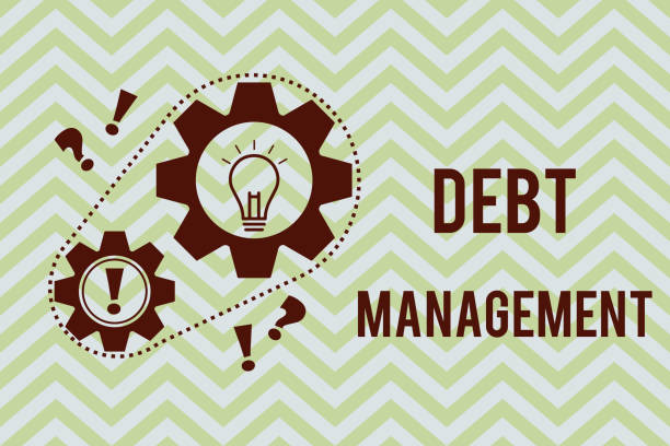 Word writing text Debt Management. Business concept for The formal agreement between a debtor and a creditor Word writing text Debt Management. Business concept for The formal agreement between a debtor and a creditor. debenture stock illustrations