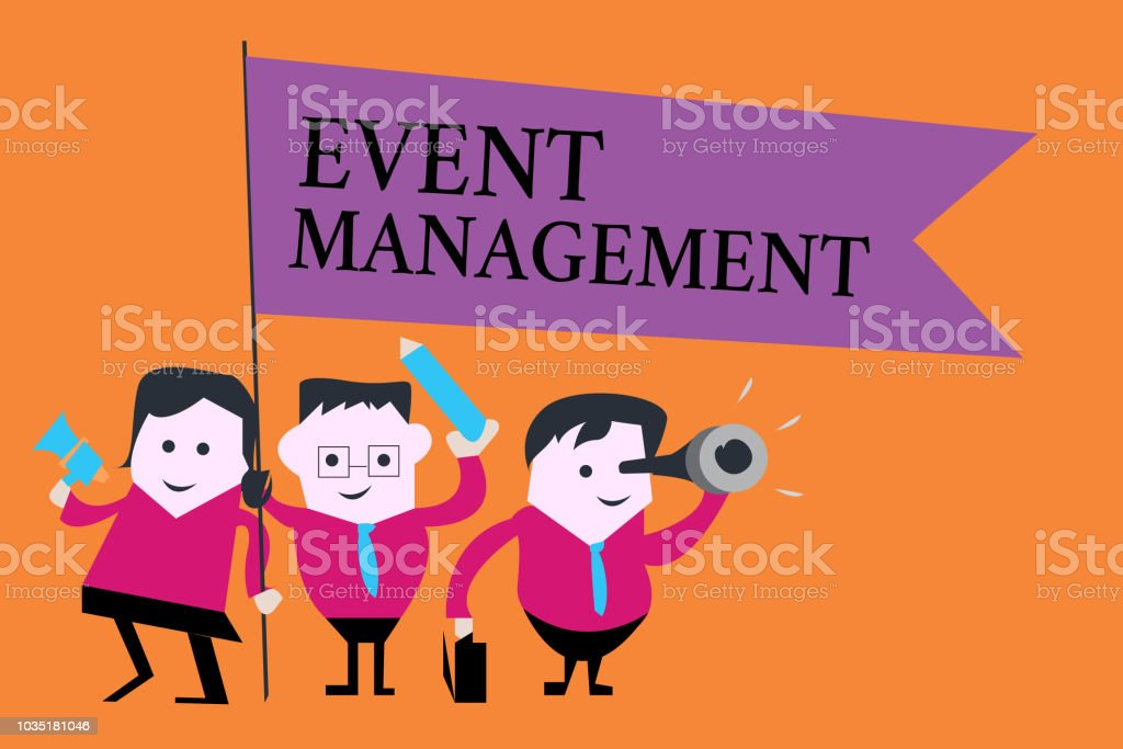 Word Writing Text Event Management Business Concept For