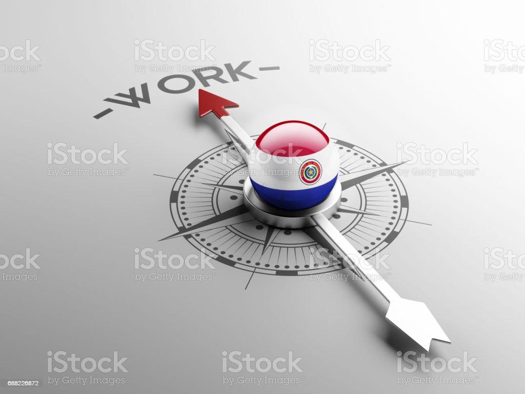 Concepto de trabajo - ilustración de arte vectorial