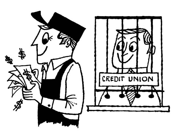Royalty Free Credit Union Clip Art, Vector Images