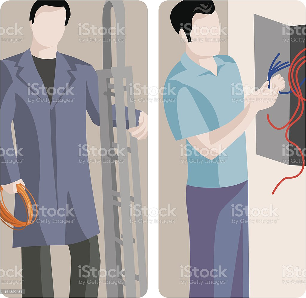 Worker Vector Illustrations Series royalty-free worker vector illustrations series stock vector art & more images of activity