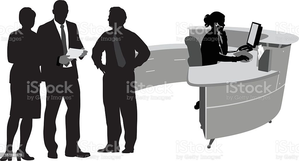 De trabajo - ilustración de arte vectorial