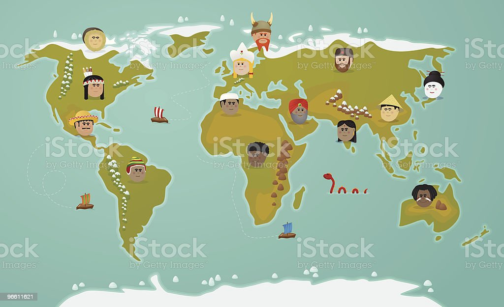 World civilization - Royalty-free Adult stock vector