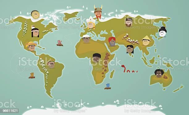 World Цивилизации — стоковая векторная графика и другие изображения на тему Аборигенная культура