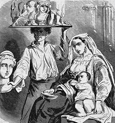 World Exhibition Paris 1867 - Bella italia - art and family