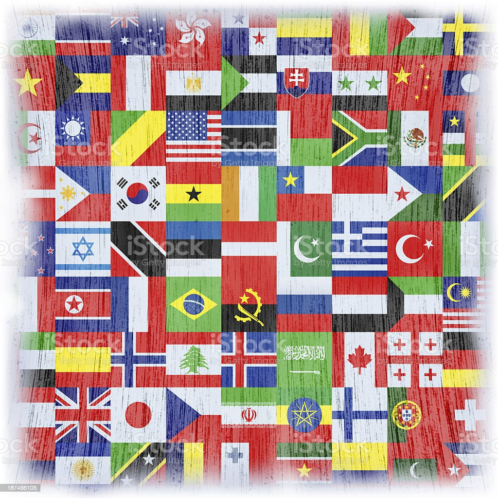 world flag royalty-free stock vector art