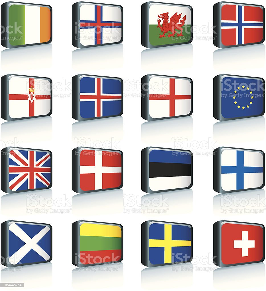 World Flags royalty-free world flags stock vector art & more images of all european flags