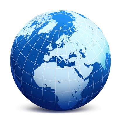 World Globe Stock Illustration - Download Image Now