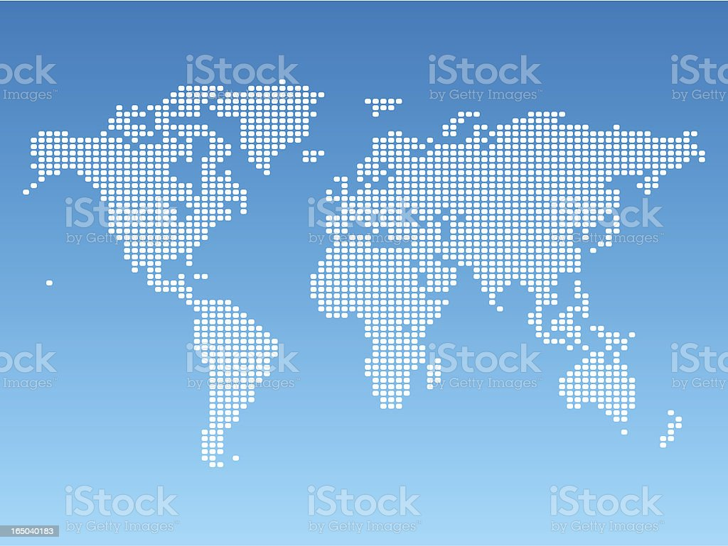 World map pixel led stock vector art more images of africa world map pixel led royalty free world map pixel led stock vector art amp gumiabroncs Image collections