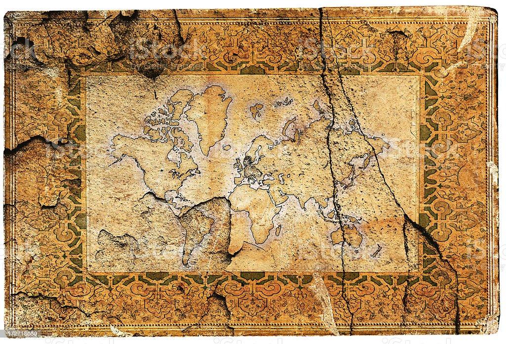 World map XXL royalty-free stock vector art