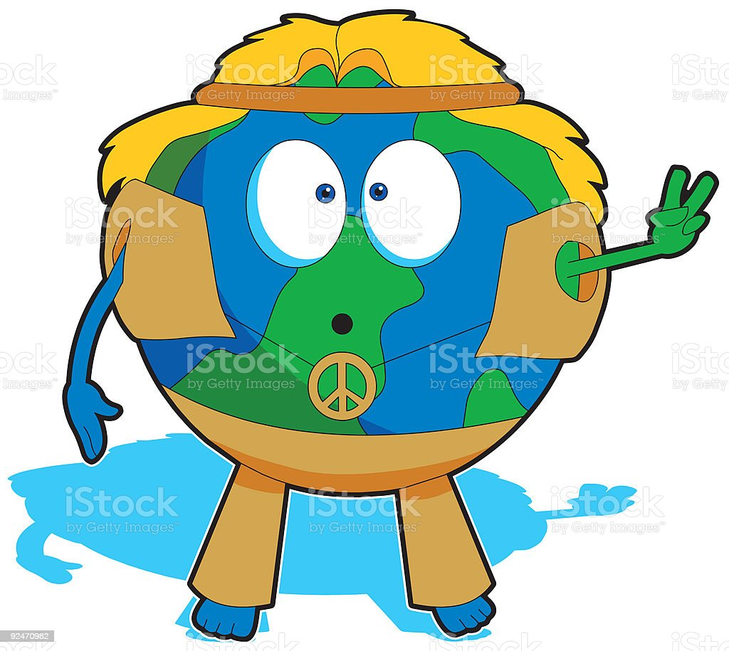 World Peace royalty-free stock vector art