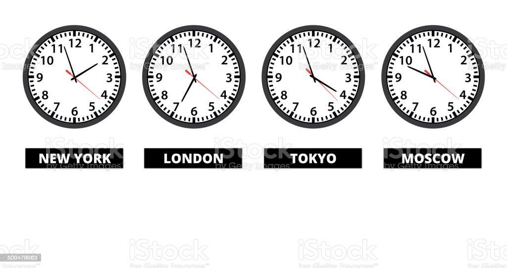Токио, Япония - точное время