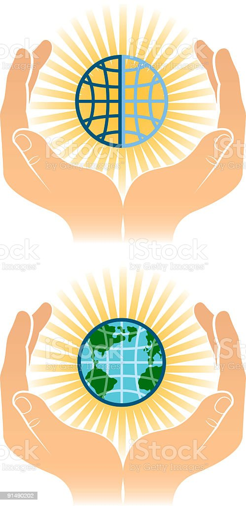 Worlds royalty-free stock vector art