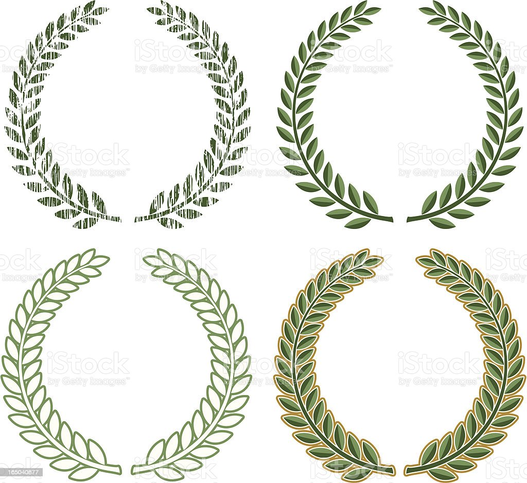 Wreath royalty-free wreath stock vector art & more images of celebration event
