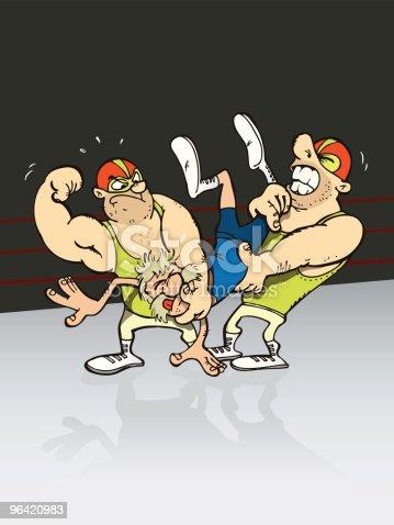 istock Wrestling 96420983